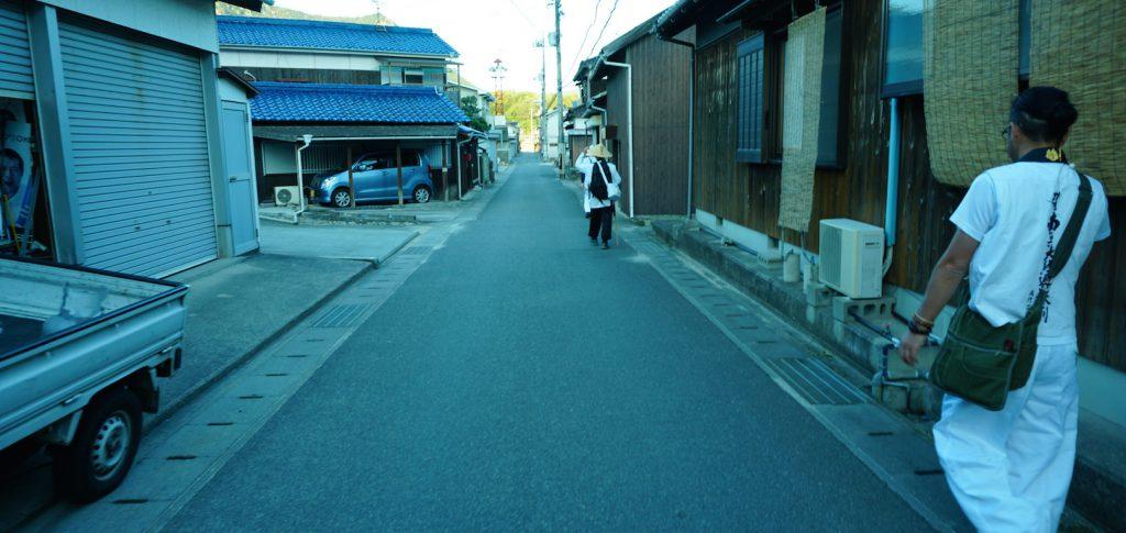 小豆島霊場歩き遍路の前半のイメージ